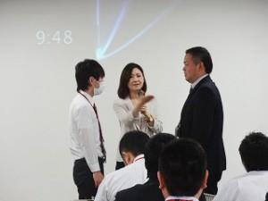 リーダーに求められる姿勢とは!? 演習で皆さんに叩き込みます! 前川 由希子 先生
