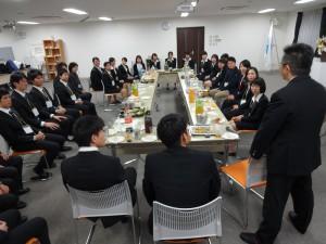 懇親会のお料理は、未来想造者和ー久さんからのご提供でした☆ど根性ファーム産の素材を使ったメニューも好評でした!